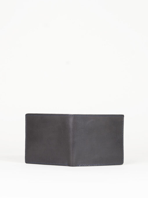 black leather credit card wallet
