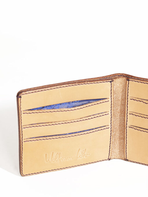 tan credit card leather wallets