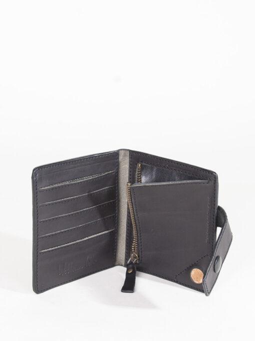 black credit card wallet