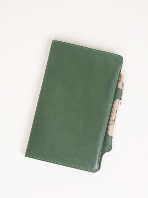 cahier journal leather cover