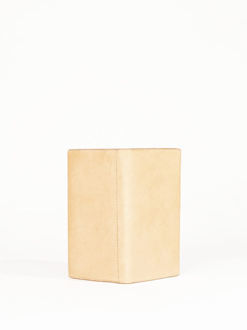 nude leather wallet purse
