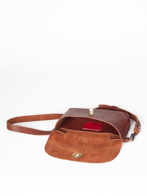tan leather belt bag uk