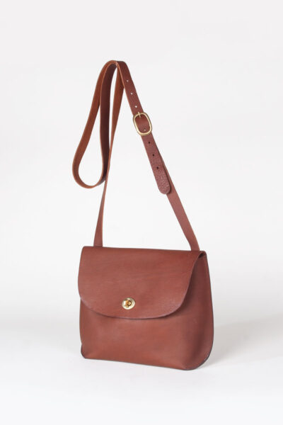 cross body tan leather bag