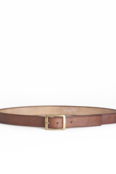 oak bark leather belt