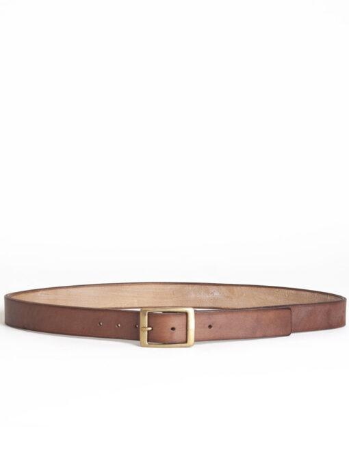 oak bark leather belt