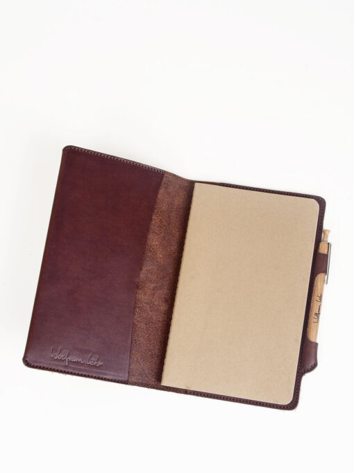 brown leather journals uk