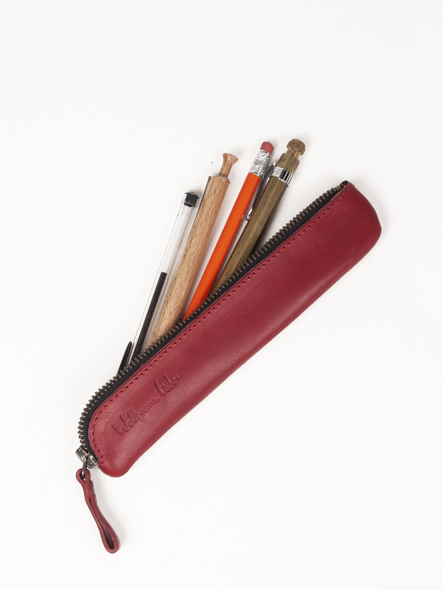 Small Pencil Case Red