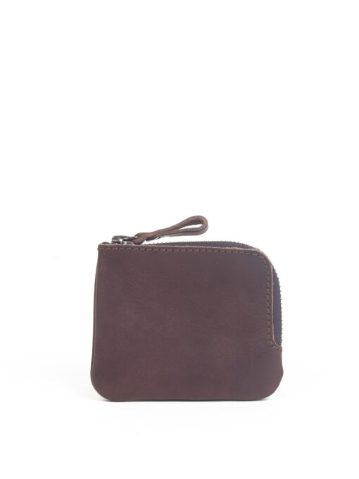 small brown leather wallet