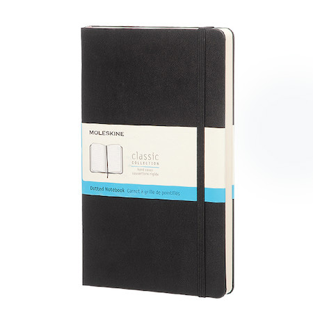moleskine classic collection large notebook