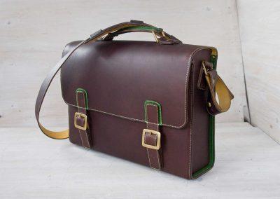 bespoke laptop satchel